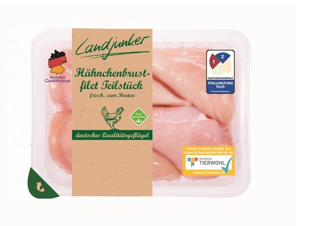 """Einfach und transparent: Lidl druckt Haltungskennzeichnung auf Frischfleisch-Verpackungen. Weiterer Text über ots und www.presseportal.de/nr/58227 / Die Verwendung dieses Bildes ist für redaktionelle Zwecke honorarfrei. Veröffentlichung bitte unter Quellenangabe: """"obs/LIDL/Lidl"""""""
