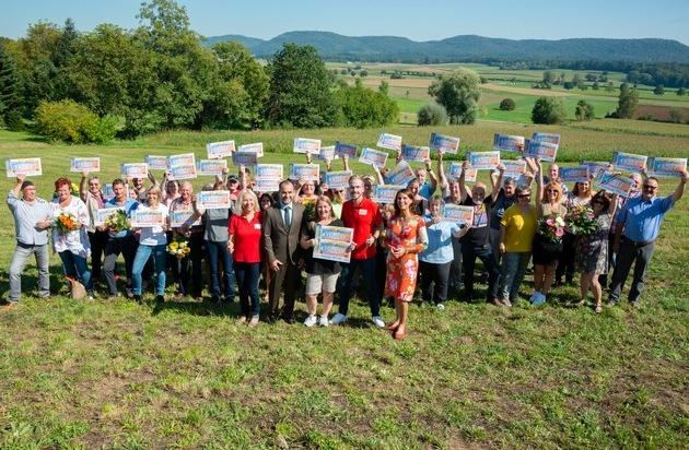 600.000 Gründe zur Freude: Postcode-Überraschung für Klettgau