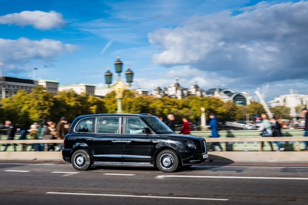 Presseinformation: Londons neue Strom-Taxis haben Brose an Bord