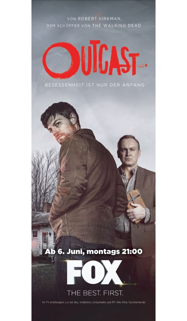 """Fox mit global vernetzter Marketing-Kampagne zum Launch der neuen Serie """"Outcast"""""""