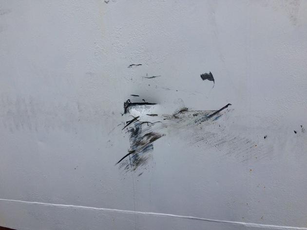 Foto: Riss in der Außenhaut (c) LWSPA M-V