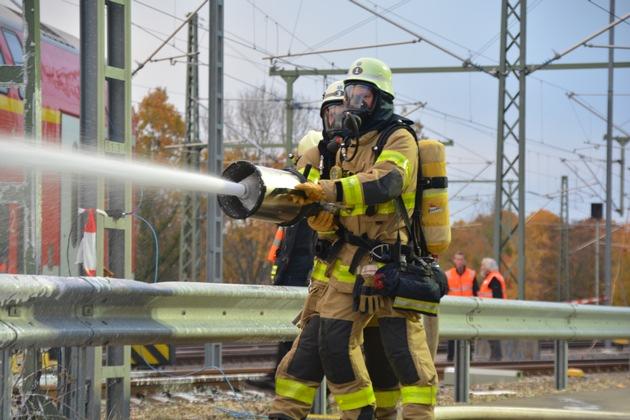 Feuerwehrkräfte im Einsatz