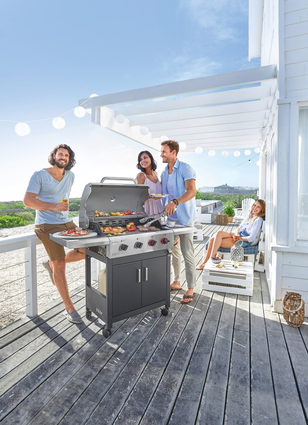 Enders Gasgrill Aldi Süd 2018 : Gasgrill enders florida plancha grill test weber klein