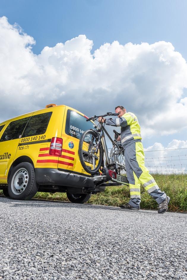 TCS Bike Assistance: protezione completa per tutti i ciclisti