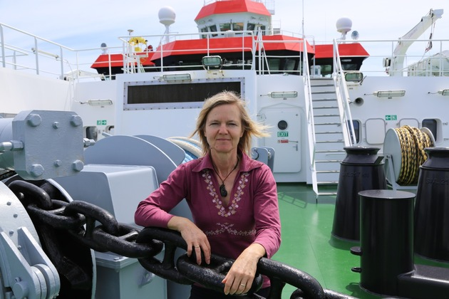 Andrea Koschinsky, Professor of Geochemistry at Jacobs University, will travel to the estuary of the Amazon ? as head of an interdisciplinary research project. Photo: private