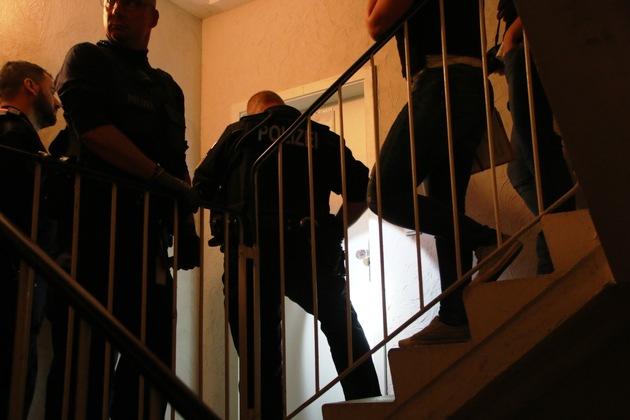 BPOLI MD: Verdacht der Visaerschleichung und unerlaubter Einreise/Aufenthalt  - Bundespolizei durchsucht drei Wohnungen