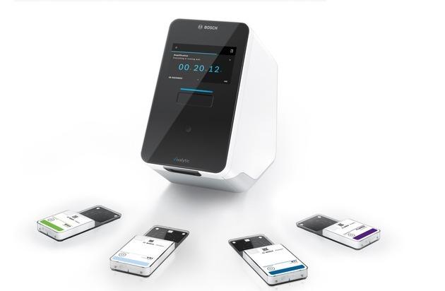 Bosch entwickelt COVID-19-(SARS-CoV-2-)Schnelltest für die Vivalytic-Plattform / Test liefert in unter 2,5 Stunden zuverlässige Ergebnisse am Point-of-Care