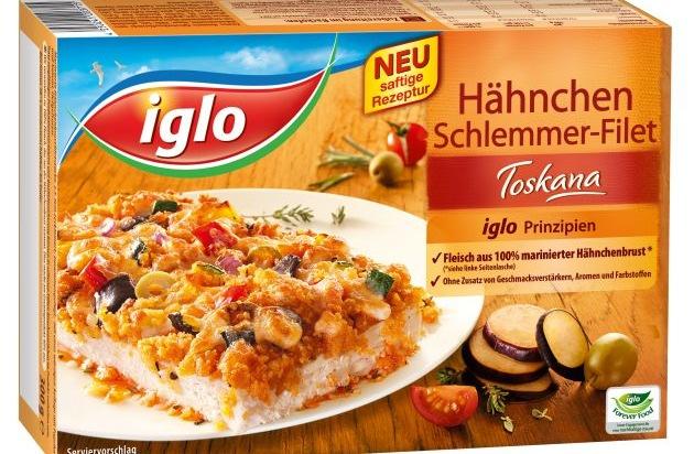 Sommerküche Hähnchen : ▷ mit iglo nach italien: das neue hähnchen schlemmer filet toskana