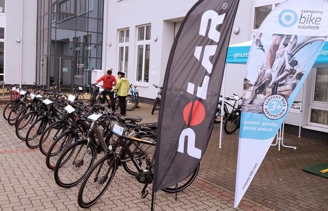 Plus für Mitarbeiter: Große Auswahl an Firmenrädern zu günstigen Leasing-Konditionen