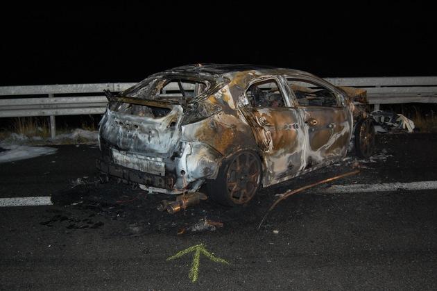 POL-HI: Unfall auf der Autobahn A7 mit Vollsperrung; 3 schwer verletzte Personen