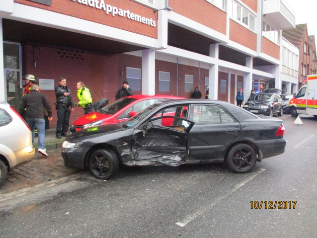 beschädigter Mazda