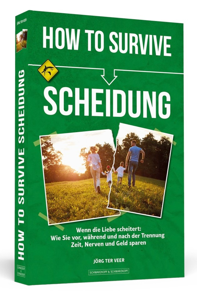 HOW TO SURVIVE SCHEIDUNG - Cover - 3D - 1000