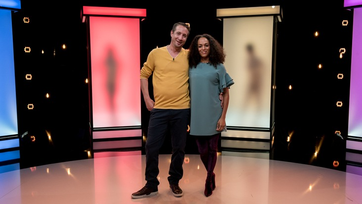 "Am Montag bei ""Naked Attraction"": Michaela (46) und Andrew (41) beim Nackt-Dating-Experiment"