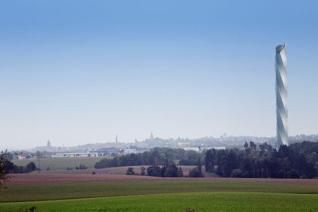 ThyssenKrupp fosters elevator technology development by building landmark test tower in Rottweil, Germany