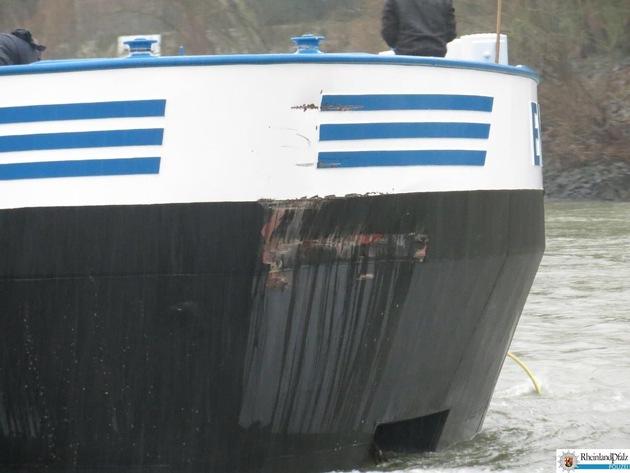 PP-ELT: Schiffsunfall auf dem Rhein