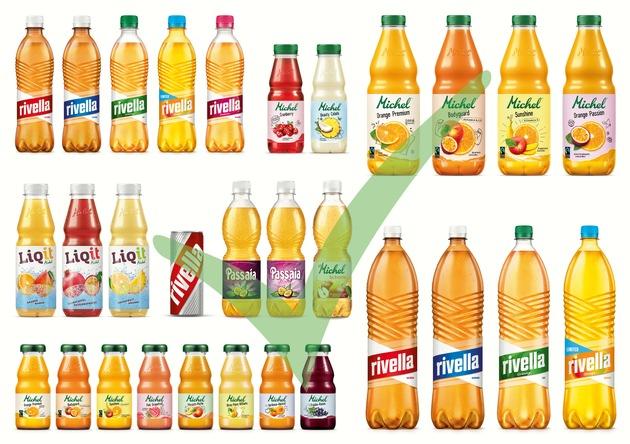 La Rivella richiama le sue bottiglie di vetro del settore della gastronomia - le bottiglie di PET e le lattine in alluminio non sono interessate