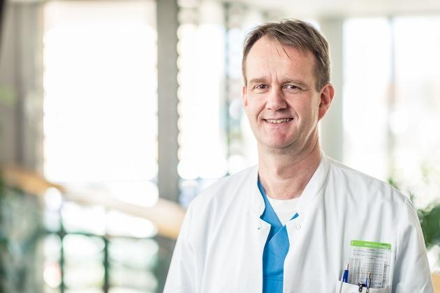 Foto (Manuel Mauer): Oberarzt Dr. med. Harald Meister