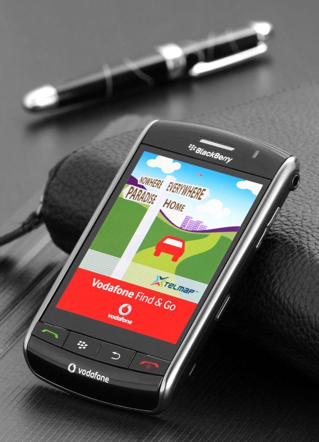 Vodafone: Navigationssysteme