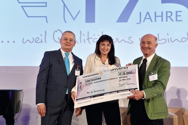 Spende für Krankenpflegeverein St. Willibald (Foto: uniVersa - Abdruck: honorarfrei | Bildunterschrift siehe oben)