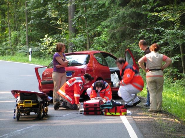 PPSH-ERB: Michelstadt - Unfall mit drei Verletzten