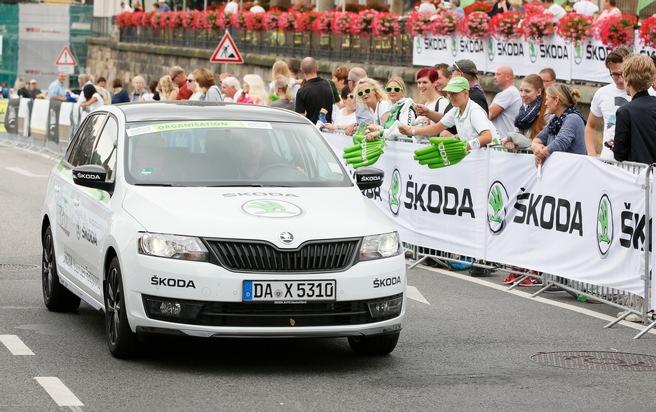 Tschechische Traditionsmarke ist Hauptsponsor und Namensgeber beim SKODA Velorace Dresden