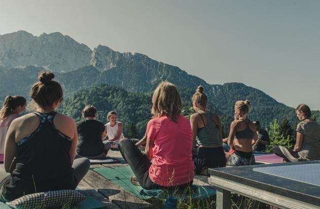Yoga Vibes im Kufsteinerland