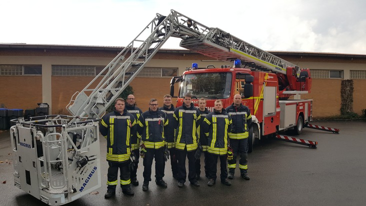 v.l.n.r.: Björn Heerde, Nils Schüring, Sven Oldendorf, Christian Hille, Tim Twarkowski, Marcel Jahn, Kevin Reker, Michael Plöger. Es fehlt: Felix Wendt (berufsbedingt)