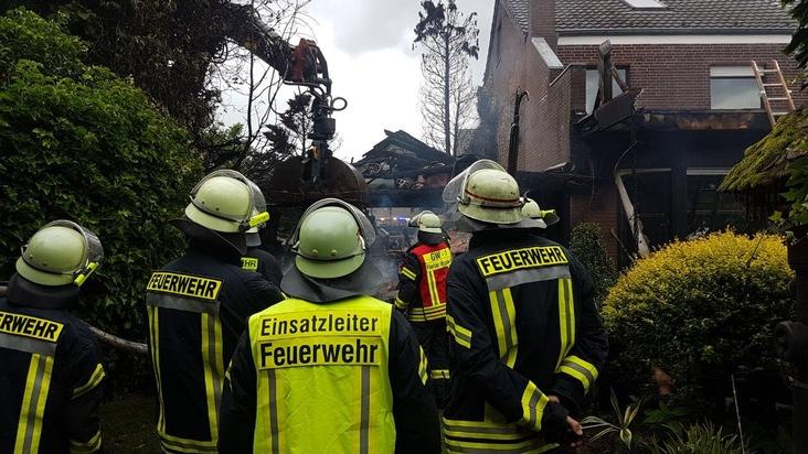 Feuerwehr Weeze: Drei Einsatzmeldungen im Gemeindegebiet Weeze innerhalb kurzer Zeit