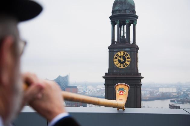 Schweizer Airline ehrt 300 Jahre alte Hamburger Tradition