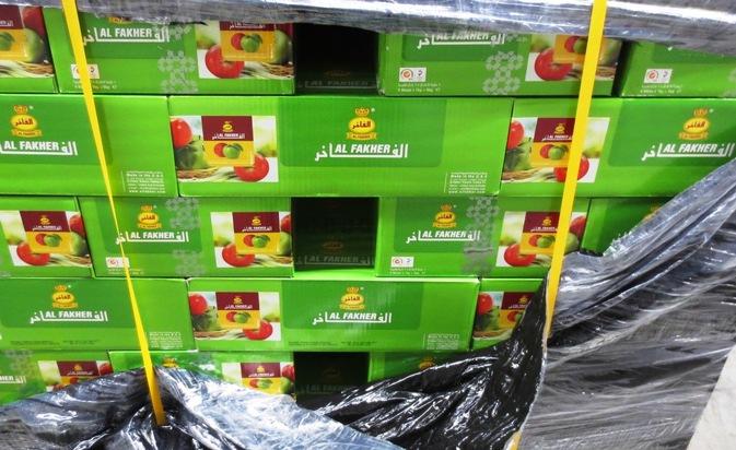 ZOLL-H: Zollfahndungsamt Hannover beschlagnahmt 6.5 Tonnen Shisha-Tabak