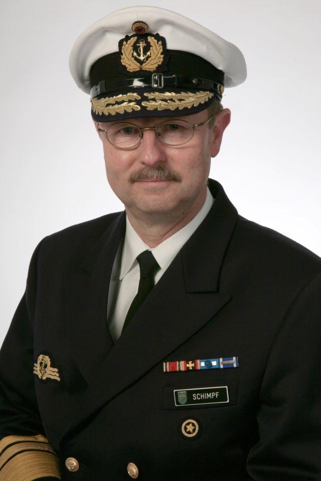 Inspekteur der Marine - Vizeadmiral Axel Schimpf