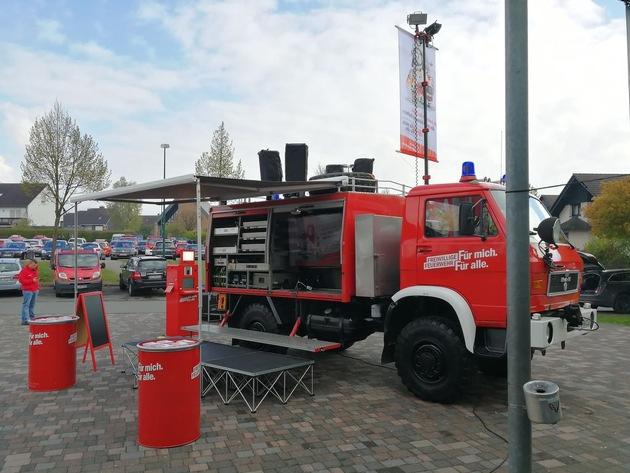 Vorstellung des Firetrucks