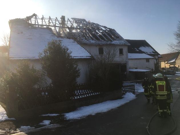 Gebäudebrand Muddenhagen 21.02.2018