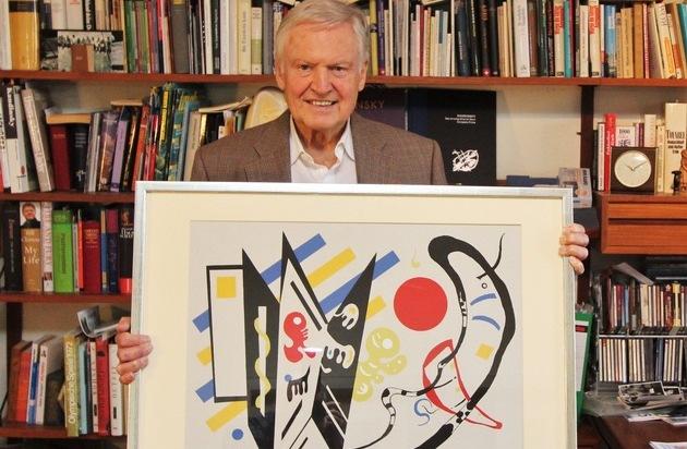 Kandinskys Vermächtnis, seine ermordete Witwe und das Gemälde