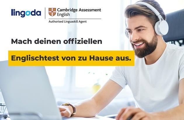 Lingoda und Cambridge Assessment English erfinden gemeinsam Englischtests neu