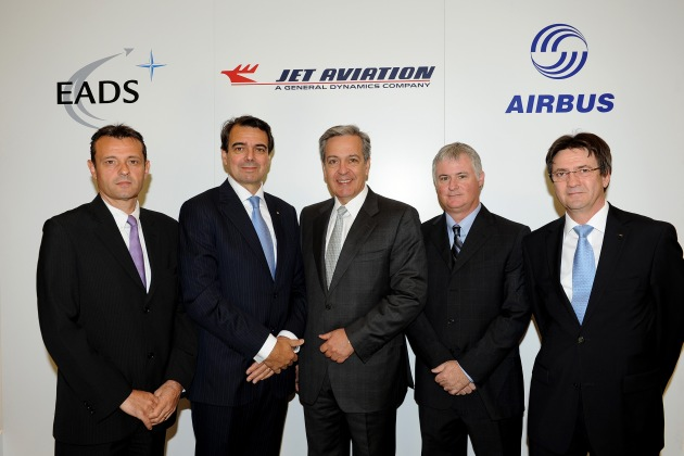 Jet Aviation and Airbus sign a new agreement about the status as an Approved Airbus Completions Center
