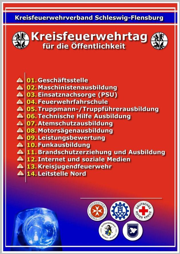 FW-SL: Medieneinladung: Kreisfeuerwehrtag in Schleswig an der Kreisfeuerwehrzentrale