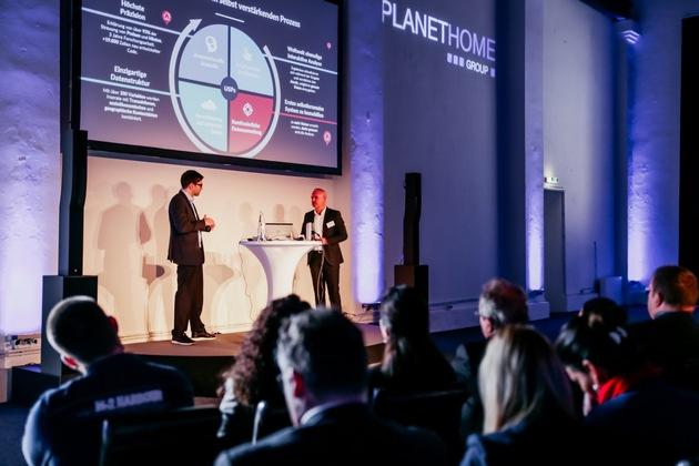 Foto Event 3 (li.: Dr. Nima Mehrafshan, Immolyze, re.: Marcus Rex, Mitglied der Geschäftsführung PlanetHome Group GmbH)