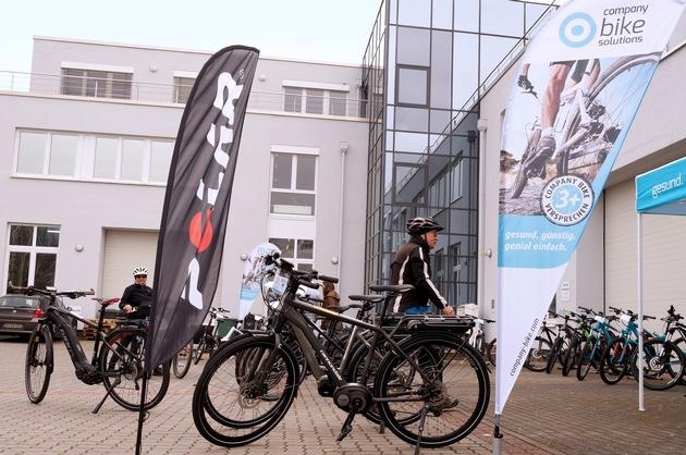Startschuss der neuen Arbeitgeber-Initiative bei POLAR Deutschland: Rad-Informationstag in Büttelborn