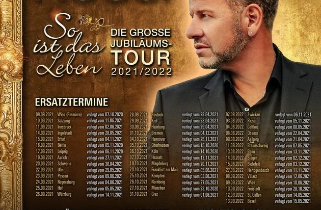 Tourneeverschiebung: Semino Rossi -
