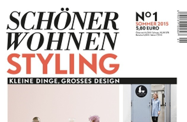 kleine dinge gro es design europas gr tes wohnmagazin startet neue line extension sch ner. Black Bedroom Furniture Sets. Home Design Ideas