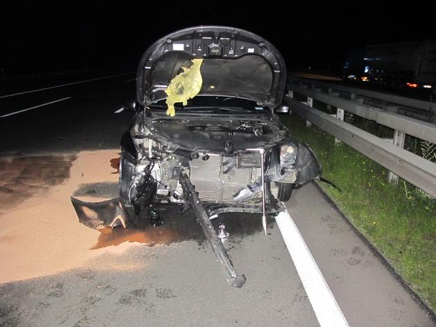 Toyota mit Unfallbeschädigungen