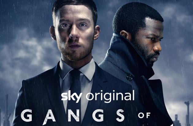 """Vom Bandenkrieg in der Londoner Unterwelt: das Sky Original """"Gangs of London"""" im Juli bei Sky"""