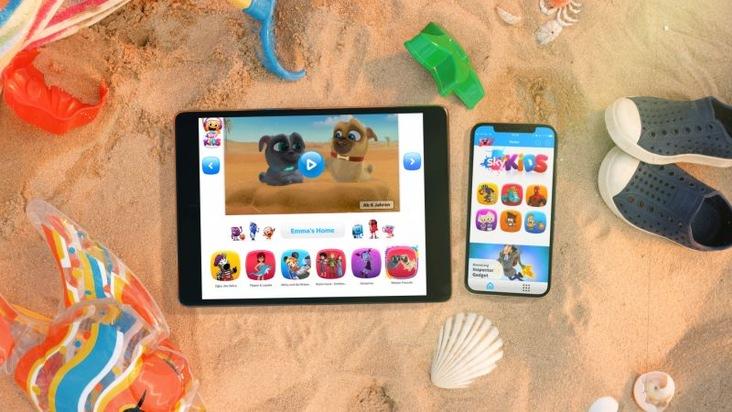 """Sky Kids App jetzt auf Smartphones und Tablets Weiterer Text über ots und www.presseportal.de/nr/33221 / Die Verwendung dieses Bildes ist für redaktionelle Zwecke honorarfrei. Veröffentlichung bitte unter Quellenangabe: """"obs/Sky Deutschland"""""""