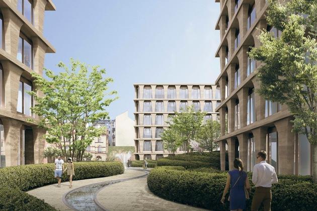 Bötzow Quartier nach finaler Fertigstellung in 2022  Bildquelle DCALaborgh - Bild 3
