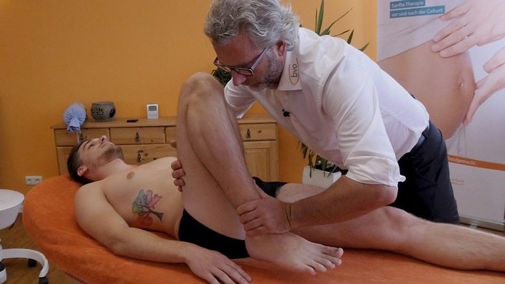 Osteopathie für Kniebehandlung