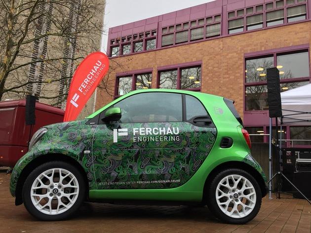 Student des Karlsruher KIT gewinnt FERCHAU-E-Smart