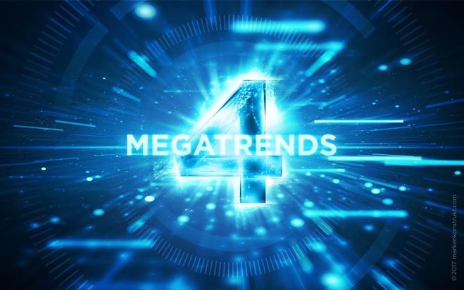 Die 4 Megatrends der Digitalisierung