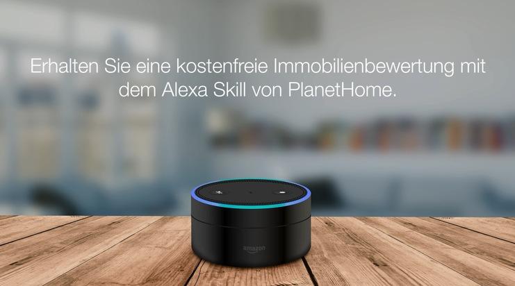 Bild Immobilienbewertung mit Alexa