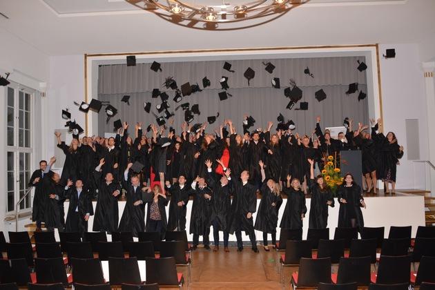 Hüte werfen Alumni AKAD University